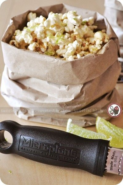 More like this: popcorn , limes and chilis .