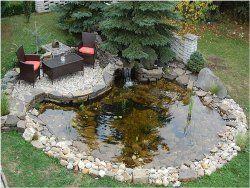 Ako zazimovať záhradné jazierko?