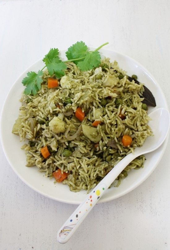 how to make dill rice indian style
