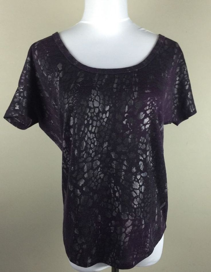Charolette Russe Medium Purple Women's Top Shirt   eBay