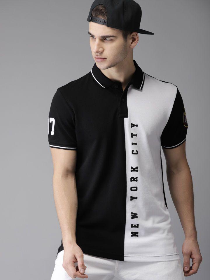 Online Shopping For Women Men Kids Fashion Lifestyle Myntra Polo Shirt Design Polo Fashion Mens Polo T Shirts