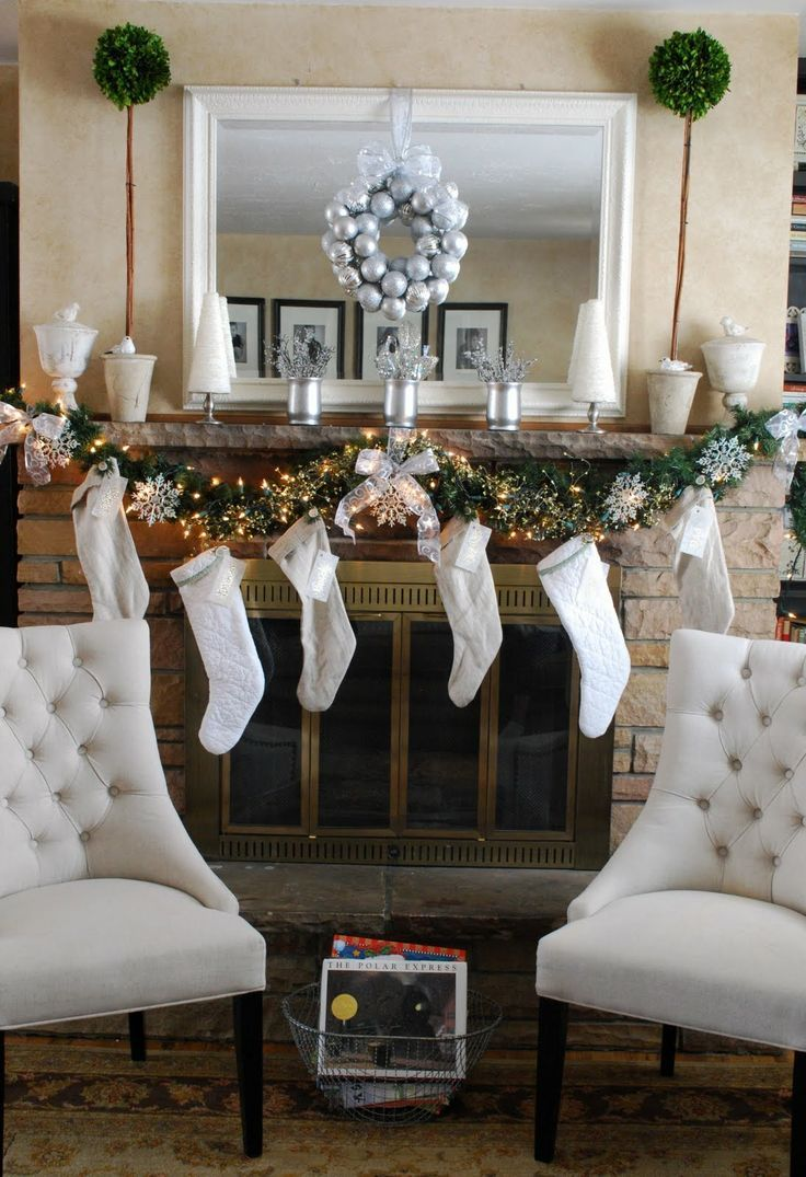 64 best christmas garlands images on pinterest christmas