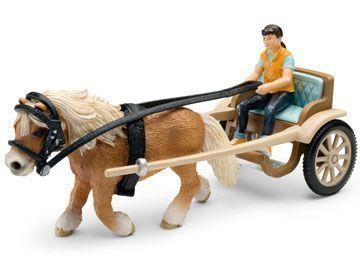 Pony Vogn - Schleich 42040 Shop - Eurotoys - Legetøj online