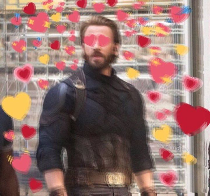 Assemble Avengers Chatroom Peter The Girlfriend Cute Love Memes Chris Evans Heart Meme