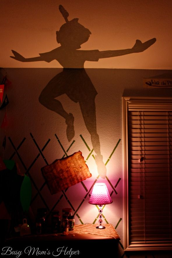 DIY Peter Pan's Shadow Nightlight / by Busy Mom's Helper #SleepAligned