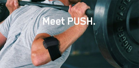 PUSH: The first fitness tracking device that measures strength | Indiegogo