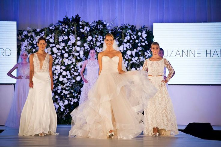 After our spectacular Melbourne show we can't wait to see the incredible Suzanne Harward gowns strut down the #UltimateBridalEvent runway next weekend in Sydney!!
