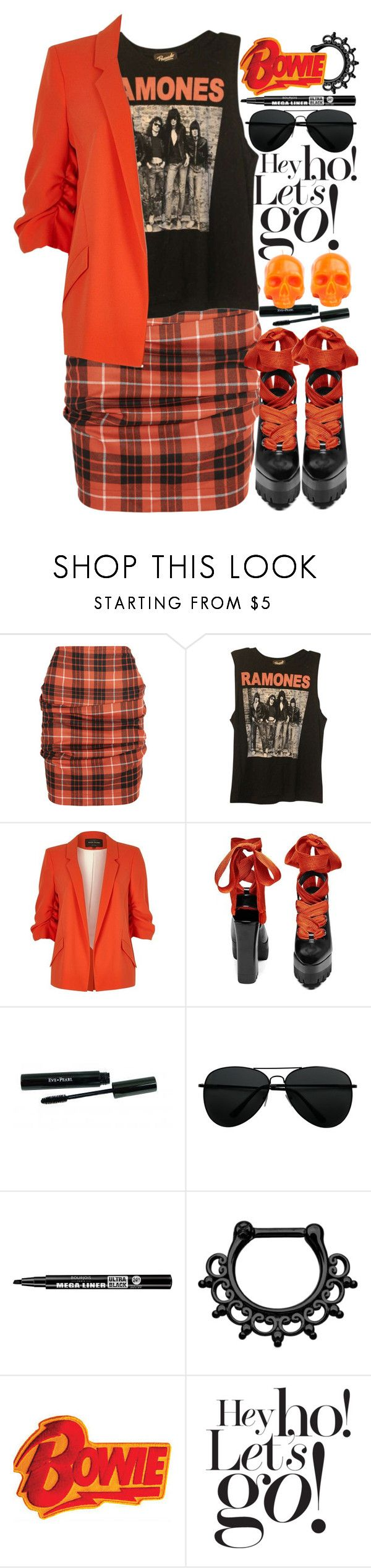 """""""1332"""" by anastaziah2014 ❤ liked on Polyvore featuring Vivienne Westwood Anglomania, Forever 21, River Island, Bourjois, Damaris and D.L. & Co."""