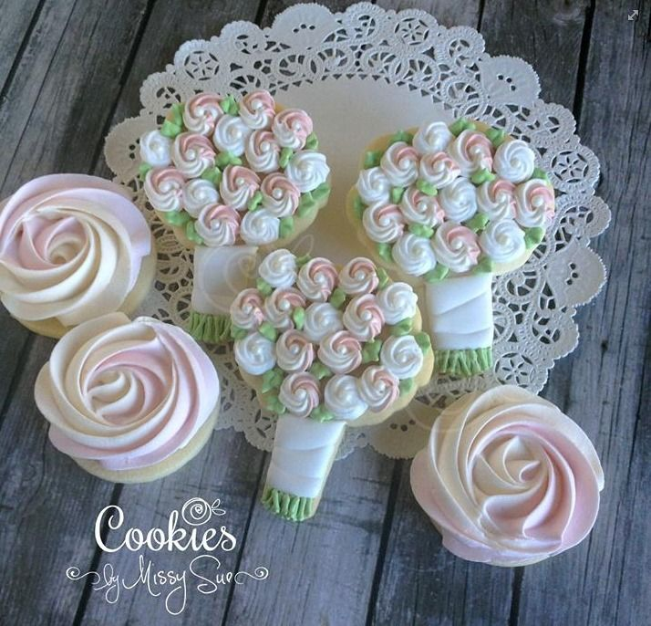 Floral Bouquet Cookies by Missy Sue | Cookie Connection