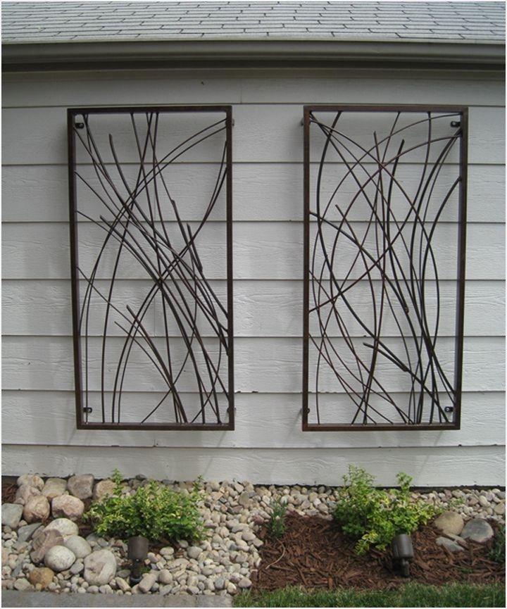41 Amazing Ideas Outdoor Wall Decor, Outdoor Metal Artwork