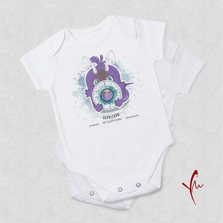 Capricornul este rabdator, intelept si organizat. Ce poti sa iti doresti mai mult? Body pentru fetite Il gasiti la http://ya-ma.ro/produs/capricorn-body/