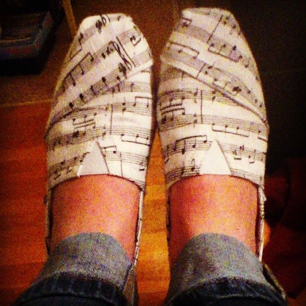 Musical Toms, Yes please! Toms shoes.
