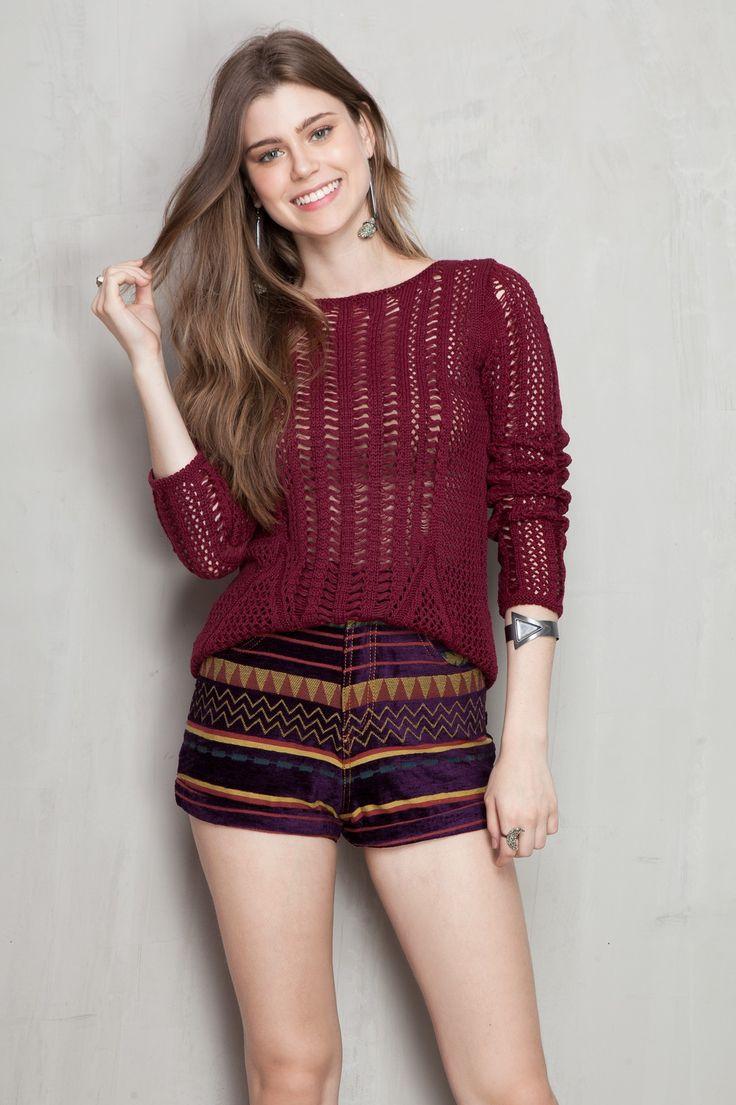 short tapeçaria estampado mystery | Dress to