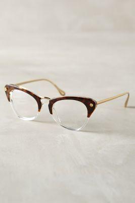 Elizabeth and James Gramercy Reading Glasses Brown Motif One Size Eyewear #anthrofave #antropologie