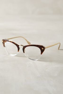 Elizabeth and James Gramercy Reading Glasses Brown Motif One Size Eyewear #anthrofave #anthropologie
