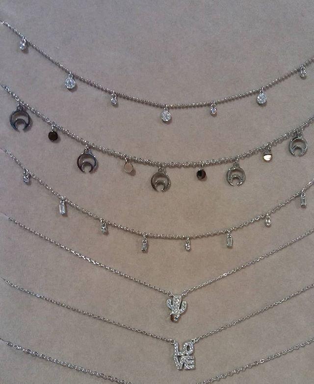 931e6a0137b0 Gargantillas  gargantillas  plata  silver  love  loveyou  cactusplata   brillo