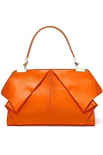 tangerine carryall by Blumarine
