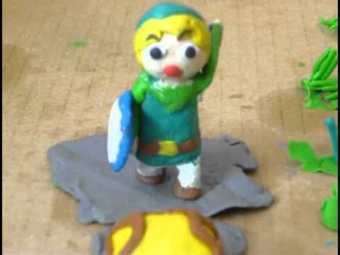 Example of Sound Effects- Legend of Zelda stop motion animation