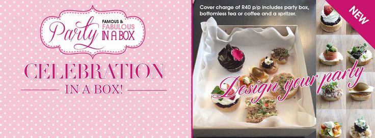 #Party in a box? How #divine!  #lovelovelove