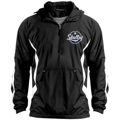 Skullsy Sports-Tek Raglan Anorak Jacket