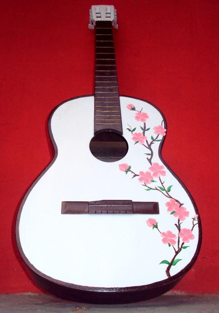 imagens de violões personalizados | Instrumentos Musicais ...