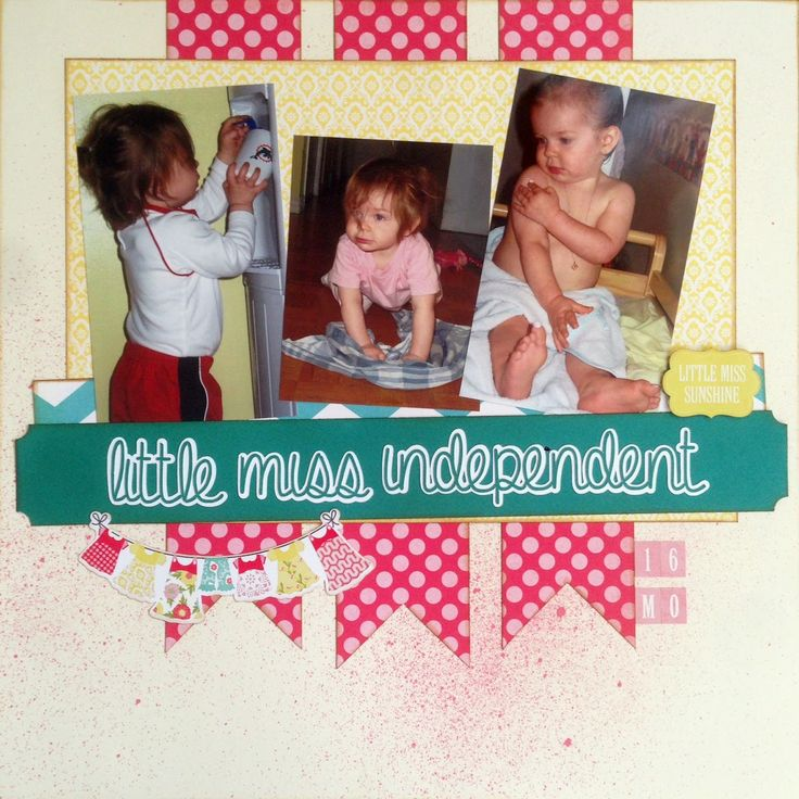 Our House of E...: Sketch ~N~ Scrap #63: Little Miss Independent