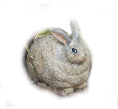 Evergreen Enterprises Inc Portly Bunny Large by Evergreen Enterprises, Inc. $28.54. Portly Bunny Large.. Evergreen Portlys remain a customer favorite.. It can be displayed indoors or out.. They are characterized by round, chubby bodies.. Made of resin material.