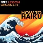 How to Haiku, Japanese Poetry Form Worksheet for Grades 5-
