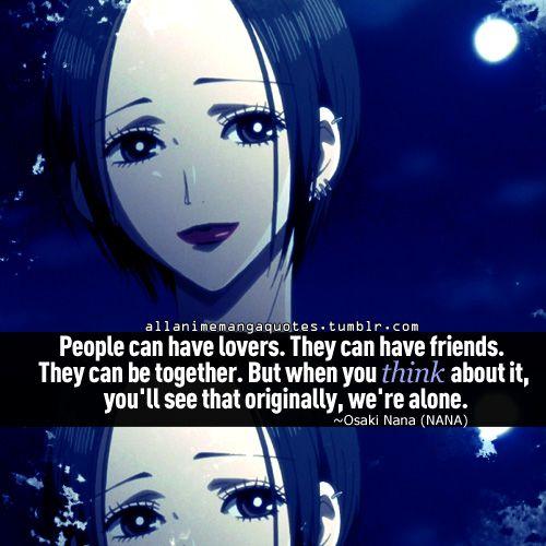 Nana Osaki Quote Manga Anime