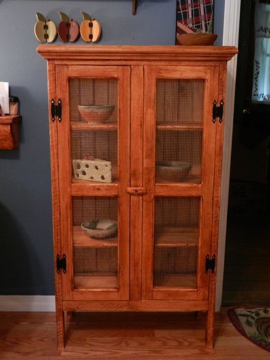 Old Antique Pie Safe | Pie Safes/Jelly Cupboards... / Vintage Inspired