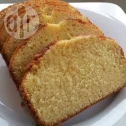 Rezeptbild: Einfacher Kuchen mit wenig Zutaten