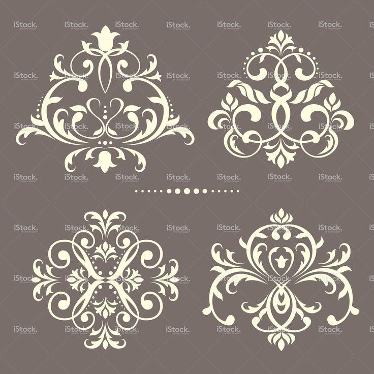 ornamental set stock vector art 12131095 - iStock