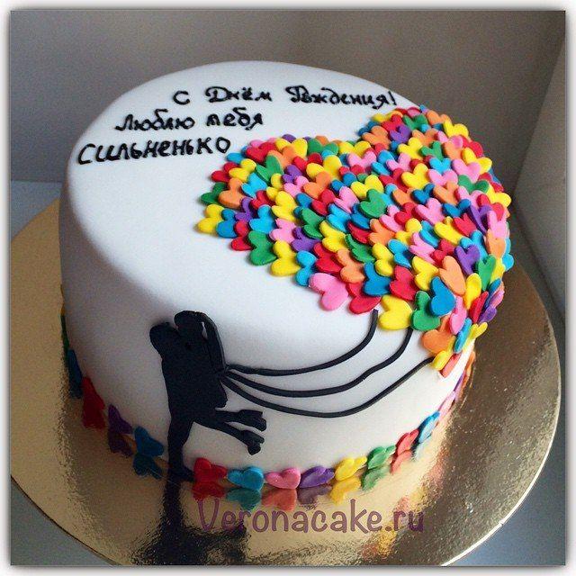 Торт из мастики парню