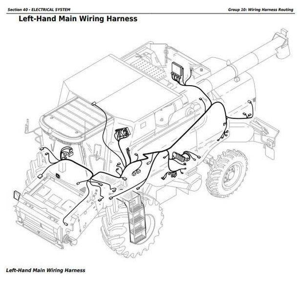 Combines 9660 9540i 9560i 9580i 9640i 9660i 9680i Wts 9780i Cts Repair Manual Tm8090 Repair Manuals Repair Manual