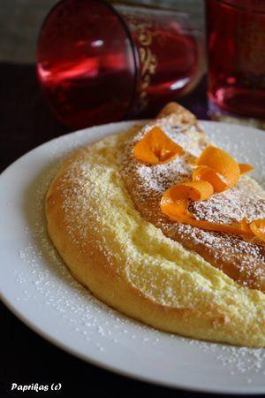 Orange Souffle Crepe