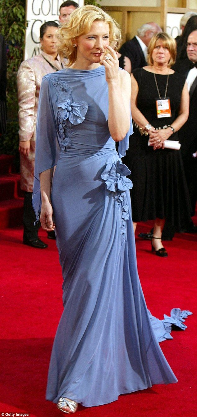 Versatile: The Australian actress, pictured at Golden Globe Awards in 2005, says her boys ...