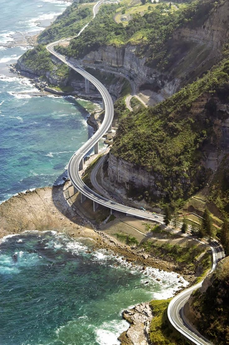 Elevated Highway Wollongong Australia
