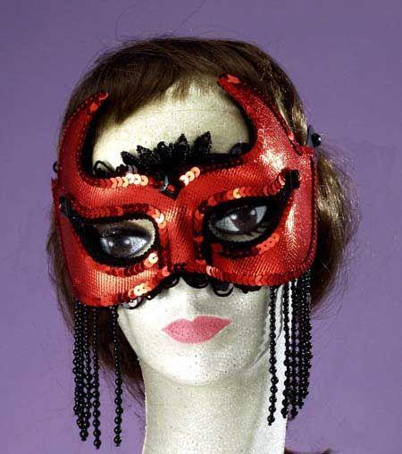she devil half mask teen halloween costumes demon devil costumes halloween costumes - Girl Halloween Masks