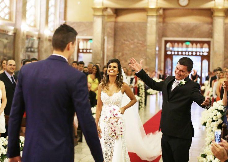 Casamento moderno: reação do pai da noiva
