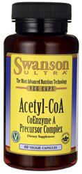 Acetyl-CoA CoEnzyme A Precursor | Energy Supplement - Swanson Health Products