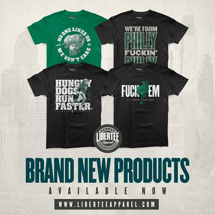 You had to know they were coming! Here are our #Superbowl champion celebration shirts! This team is so Philly it is incredible! What a ride. Get a shirt and remember it forever!! HUNGRY DOGS RUN FASTER!  #philadelphiaeagles #eagles #carsonwentz #phillies #bleedgreen  #nfl #phillysports #philadelphia #philly #trusttheprocess #gear #sports #philadelphia #phillygram #philadelphiasports #4for4  #bleedgreen #nickfoles #saintnick #underdogs #flyeaglesfly #birdgang #playoffs #football #superbowl…