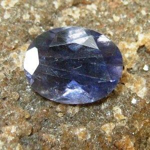 Violetish Blue Oval Iolite 1.55 carat