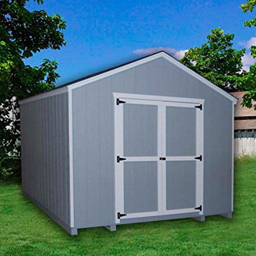 Value Gable Precut Storage Shed   Additional Features Door Measures X Feet  Double Door For Easy Entry And Exit Swivel Door Latch Features Aluminum  Corner ...