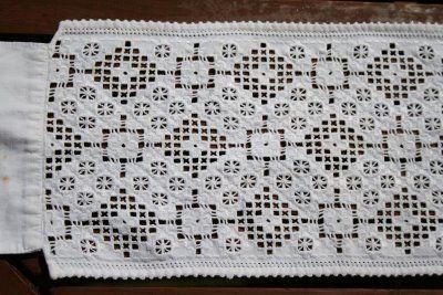EUFEMIA: bringelist fra 1900,hardanger embroidery