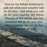 """Books, Interrupted: """"In The News"""" #quotes #jfk #news #standupforourcountry"""