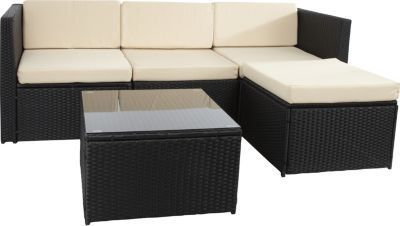 die besten 25 polyrattan sitzgruppe ideen auf pinterest. Black Bedroom Furniture Sets. Home Design Ideas