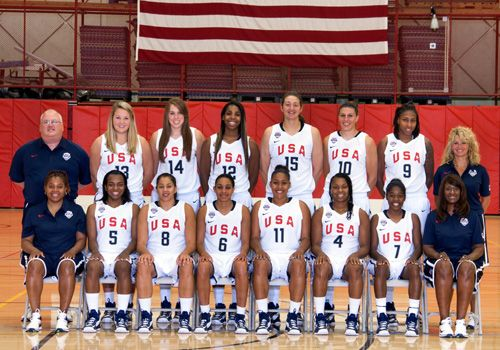 USA Basketball: USA Basketball Women's World University Games Team Roster 2013- Athletic Trainer LouAnn Jefferson from Michigan State University