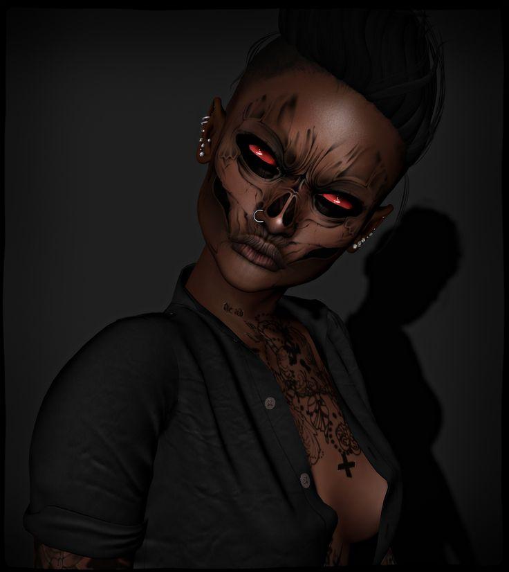 Credits Catwa mesh head Amelie remy&rowe : dora milaje : cocoa skin…