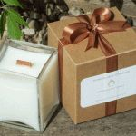 Very Vanilla Large Cube Candle