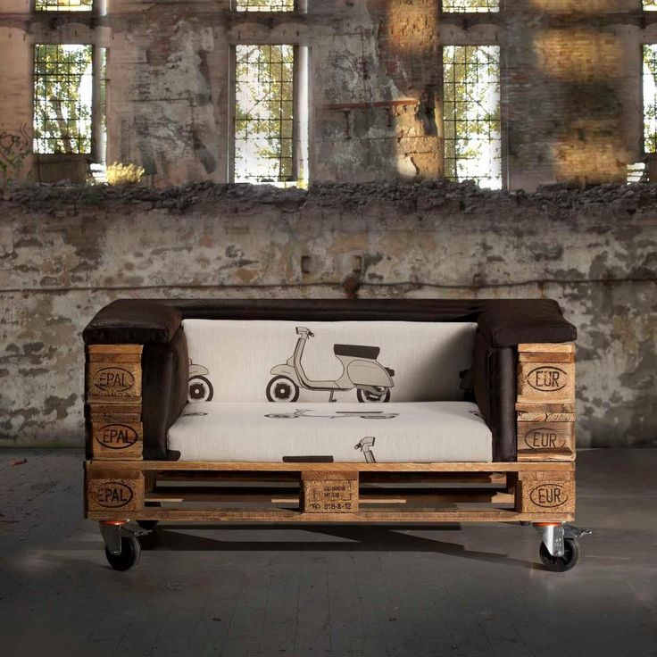 Love the wheels, fabric, and size. #eco #furniture